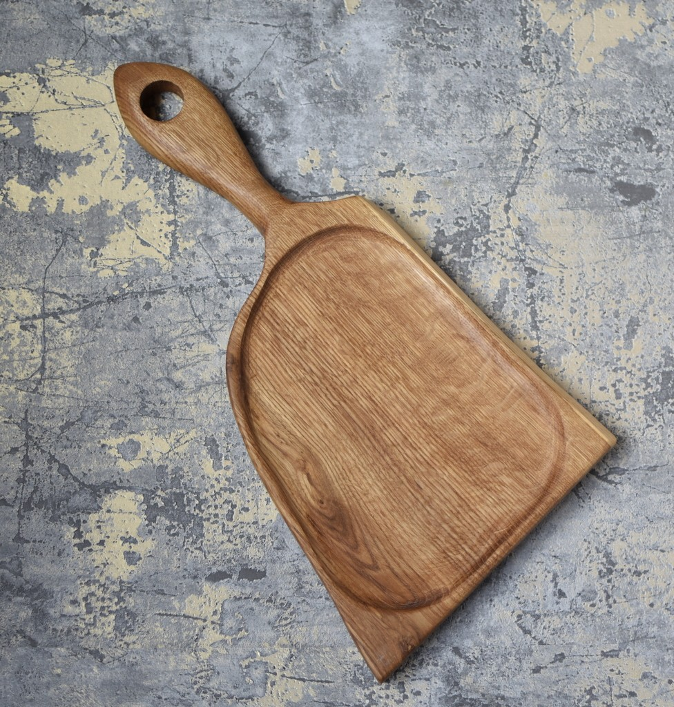 картинка Большая доска необычной формы из дуба - DishWishes.Ru