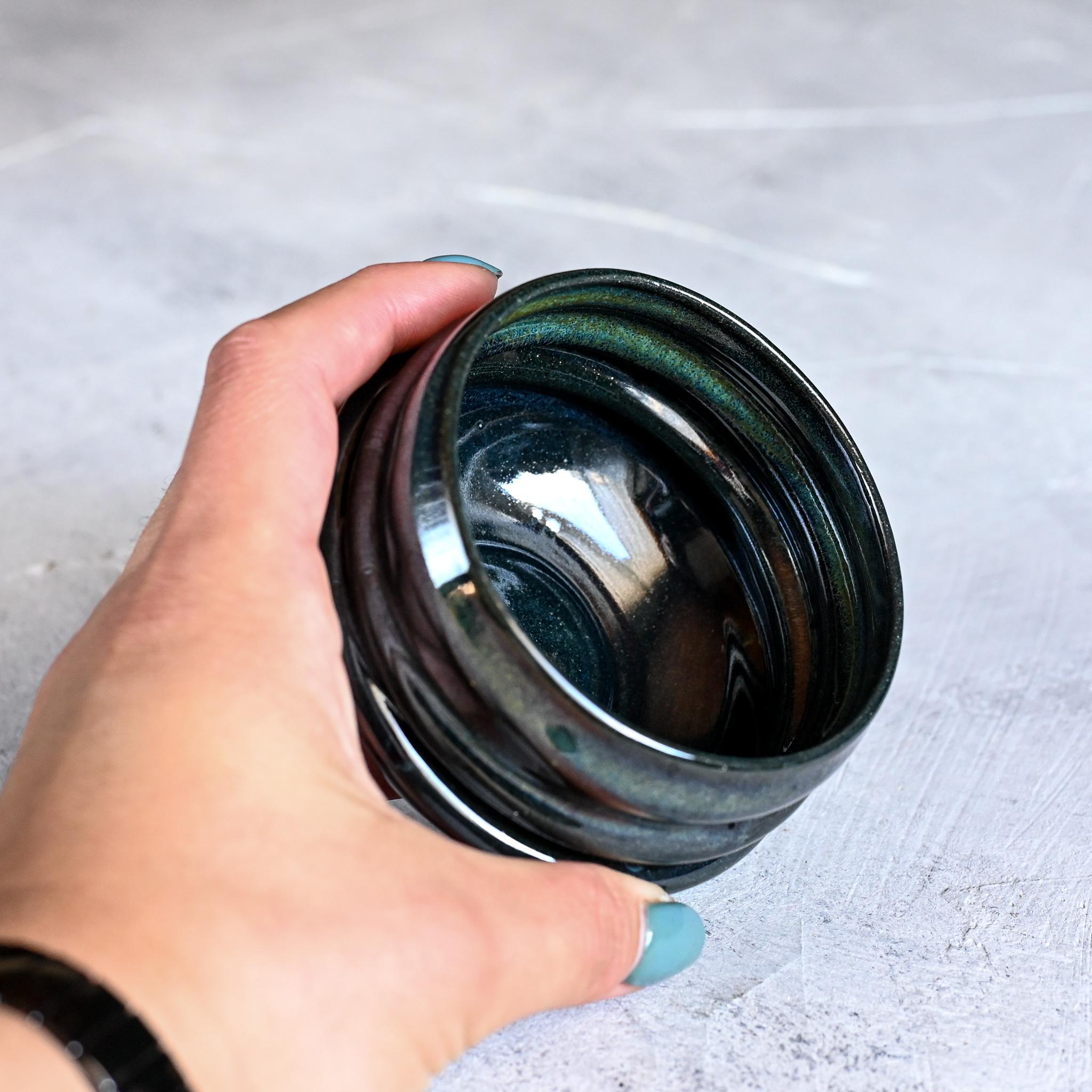 картинка Керамический стакан юноми Марии Левиной 9 - DishWishes.Ru