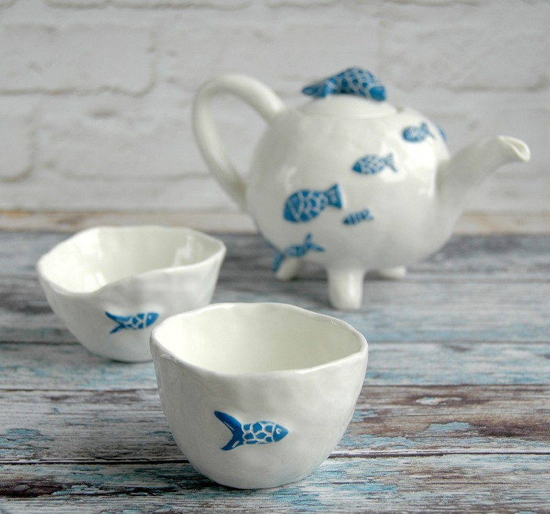 """картинка Чайник """"Твое синее море"""" - DishWishes.Ru"""