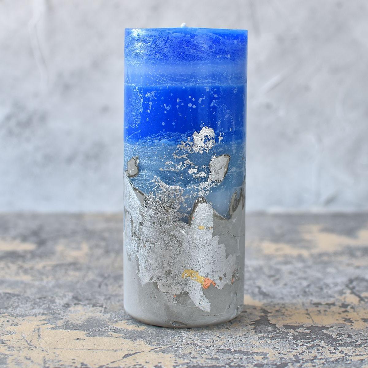 картинка Бетонная свеча - DishWishes.Ru