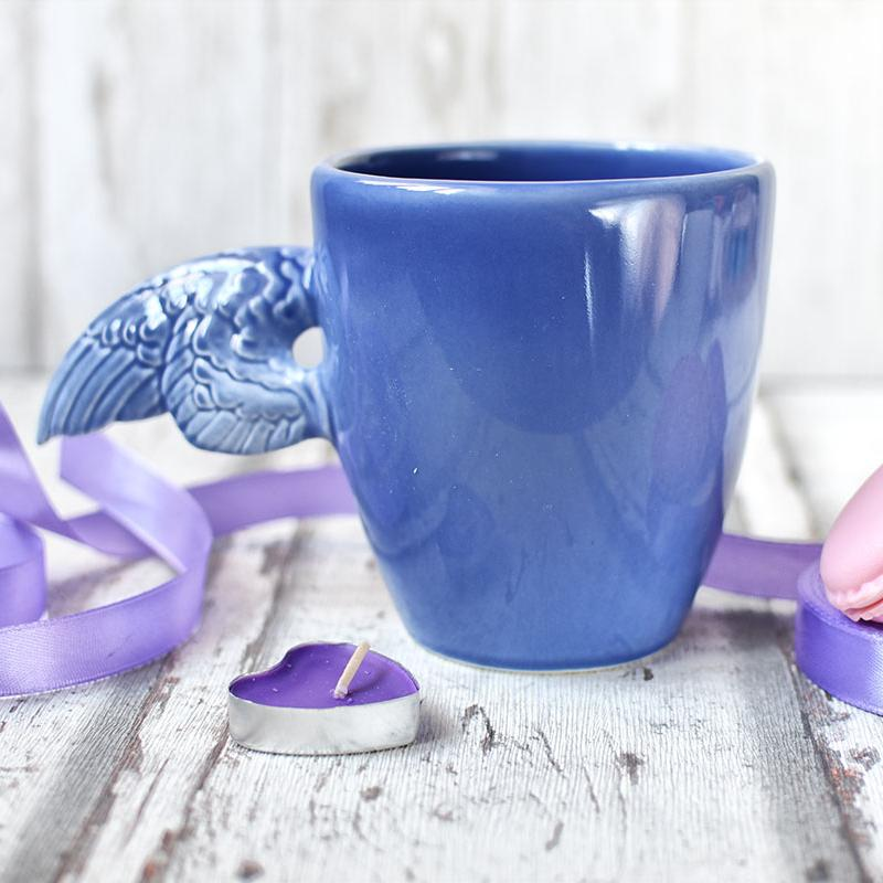 """картинка Керамическая кофейная чашка """"Крылья"""" - DishWishes.Ru"""