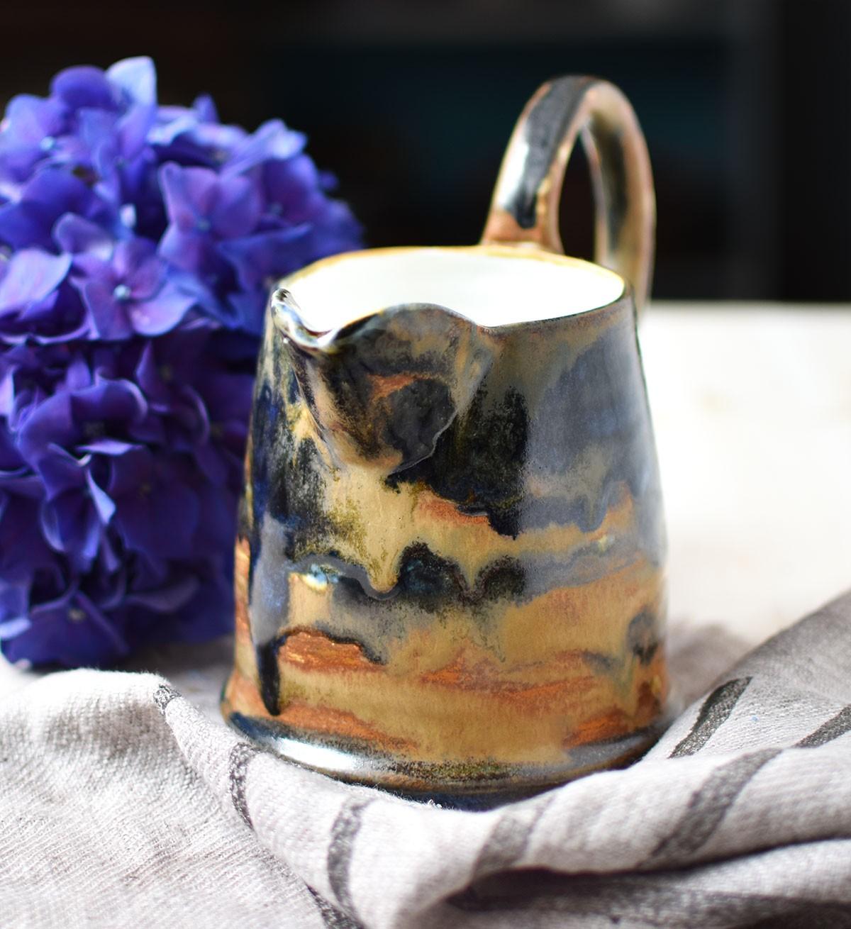 """картинка Керамический кувшин ручной работы """"Тенерифе"""" - DishWishes.Ru"""