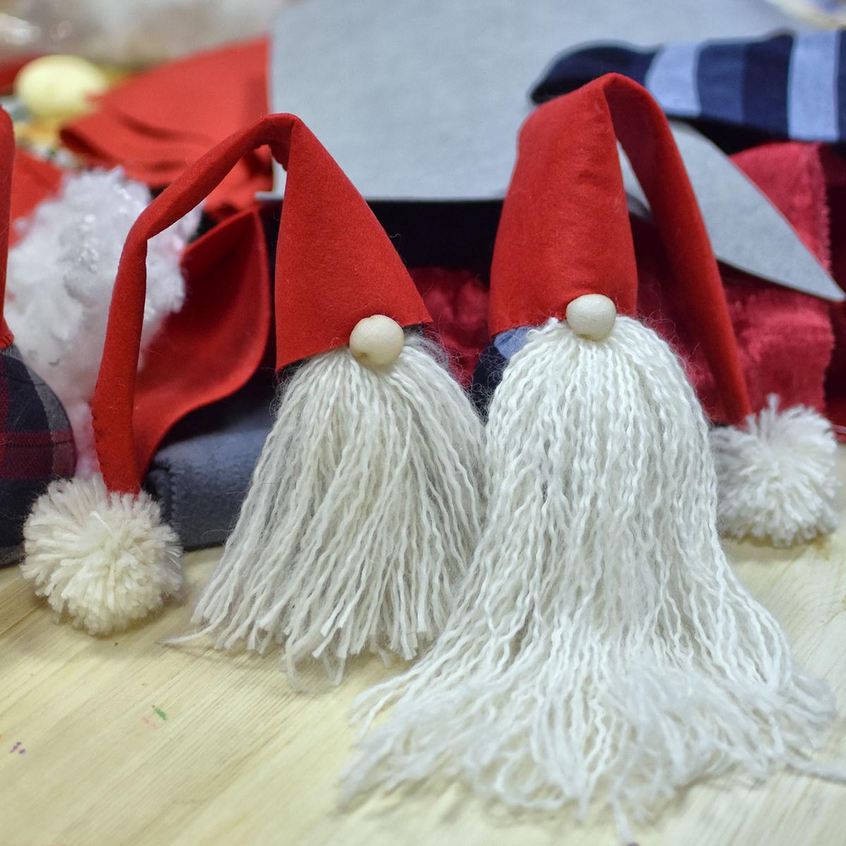 Новогоднее волшебство в Девишечной: Скандинавские гномы.