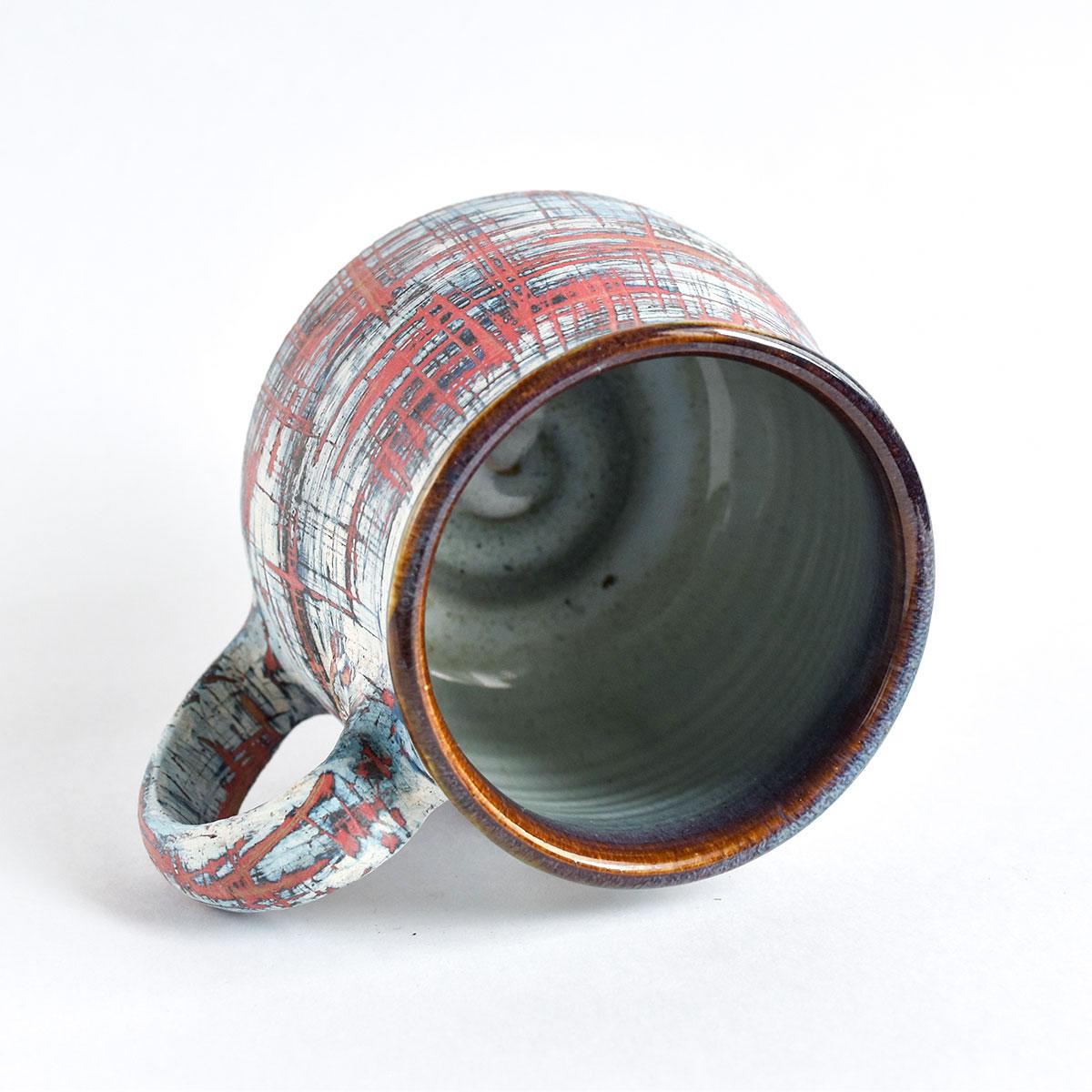 """картинка Керамическая кружка """"Новый взгляд"""" 02 - DishWishes.Ru"""
