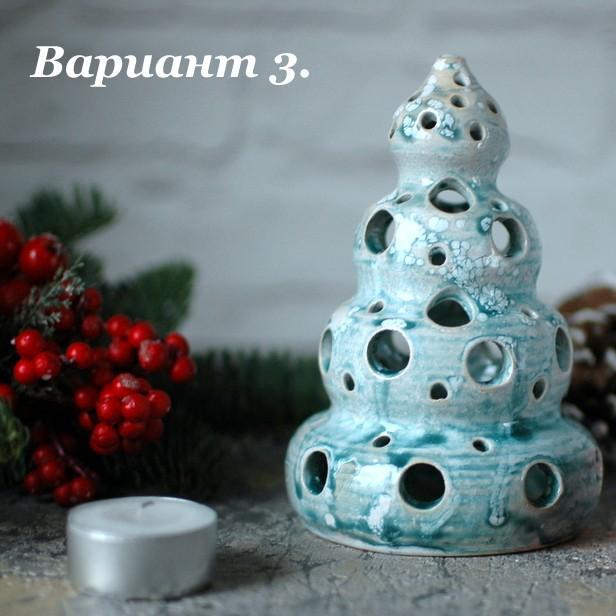 "картинка Подсвечник для греющей свечи ""Елка"" - DishWishes.Ru"