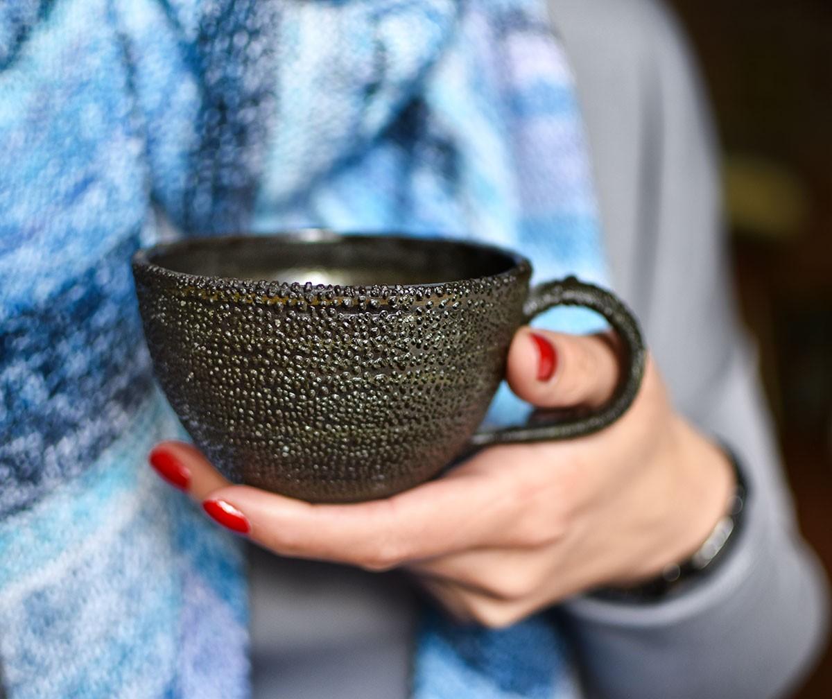 """картинка Чашка """"Черный дракон"""" - DishWishes.Ru"""