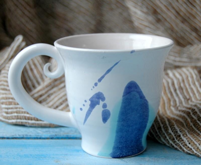 """картинка Чашка """"Акварельные брызги"""" - DishWishes.Ru"""