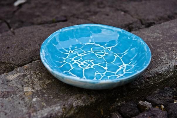 """картинка Тарелка """"Ледяное озеро"""" - DishWishes.Ru"""