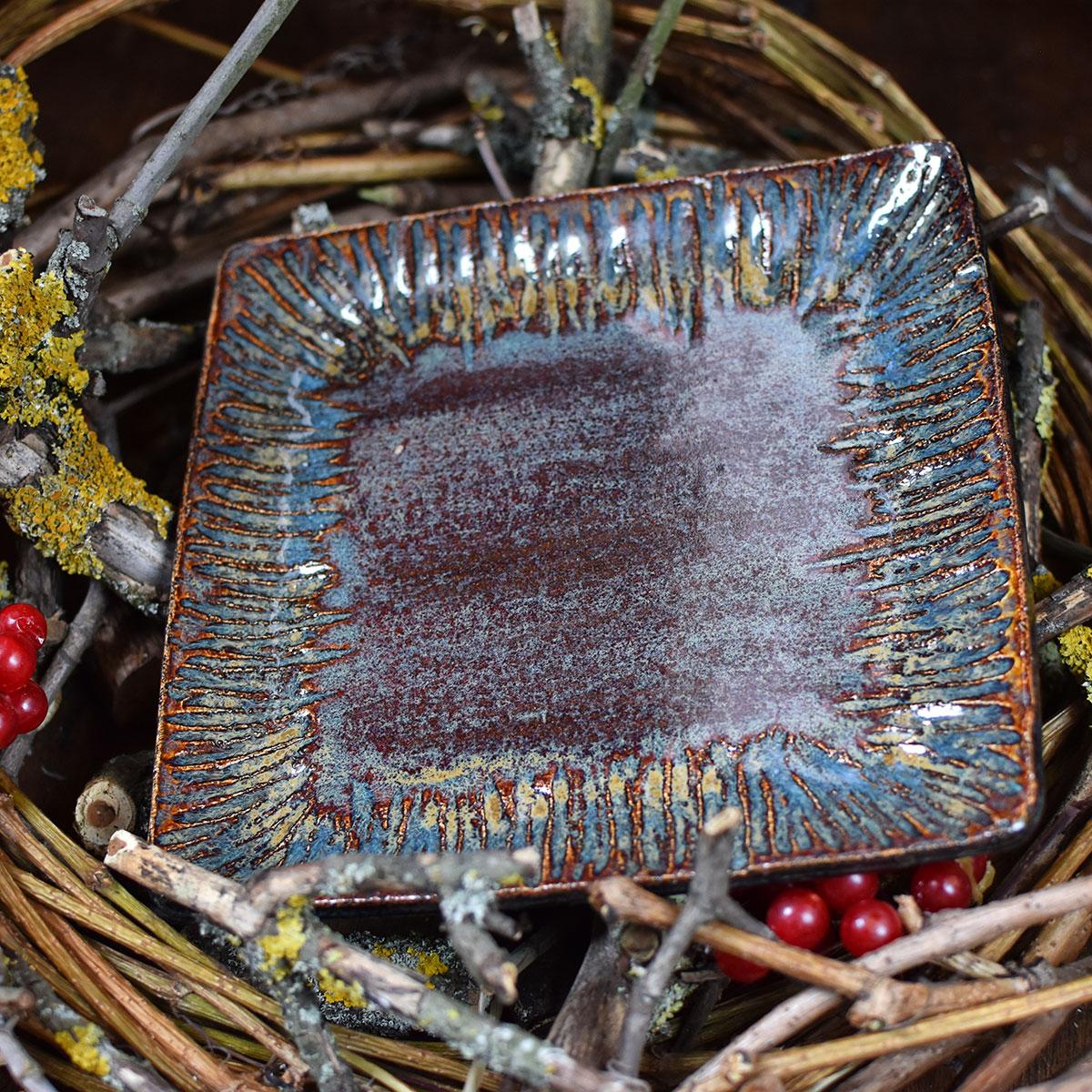 "картинка Керамическая тарелка ""Вечная мерзлота"" - DishWishes.Ru"
