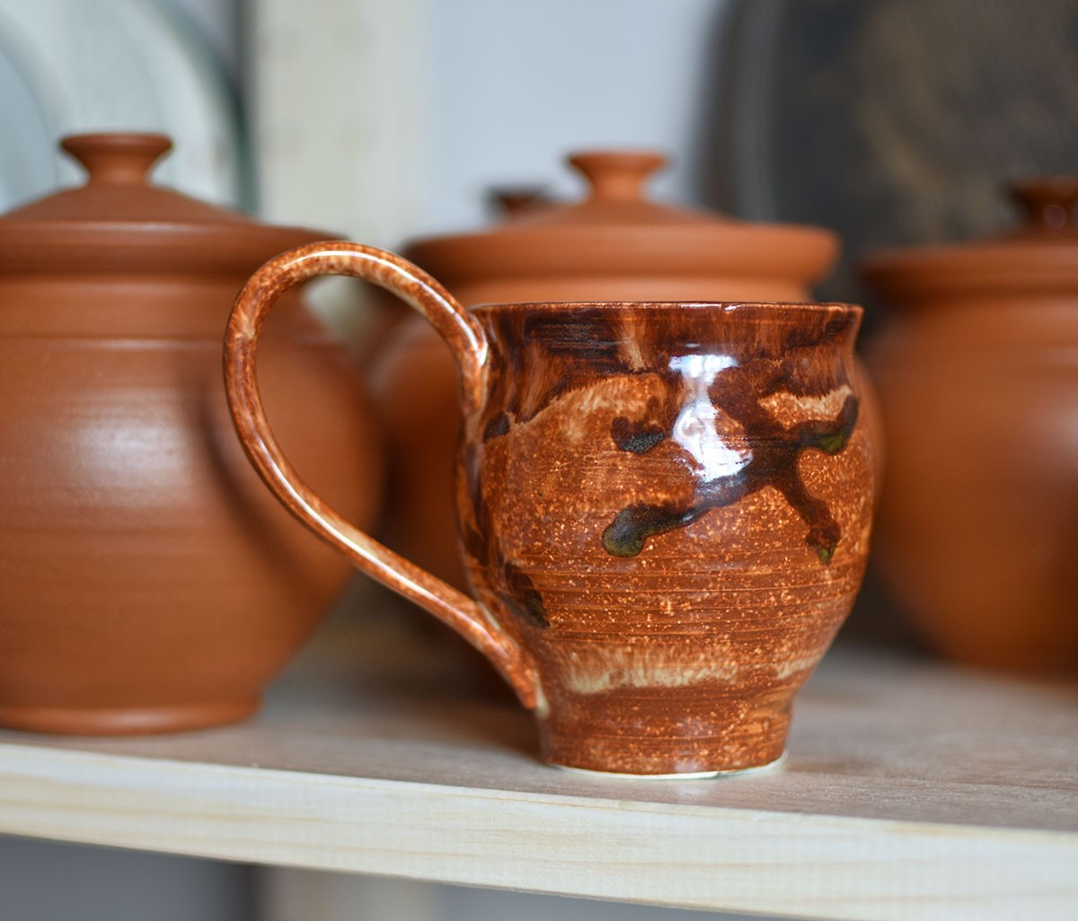 "картинка Кофейная чашка ручной работы ""Тициан"" - DishWishes.Ru"