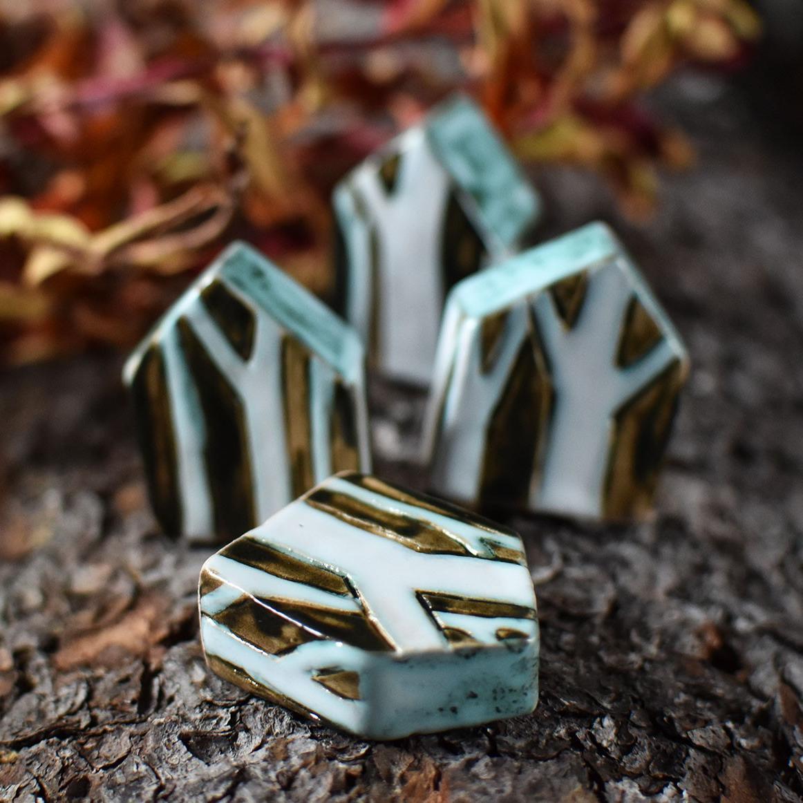 """картинка Маленький керамический домик """"Черный лес"""" - DishWishes.Ru"""