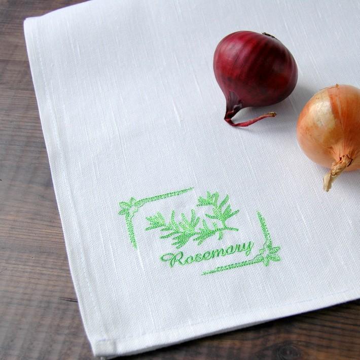 "картинка Кухонное полотенце ""Розмарин"" - DishWishes.Ru"