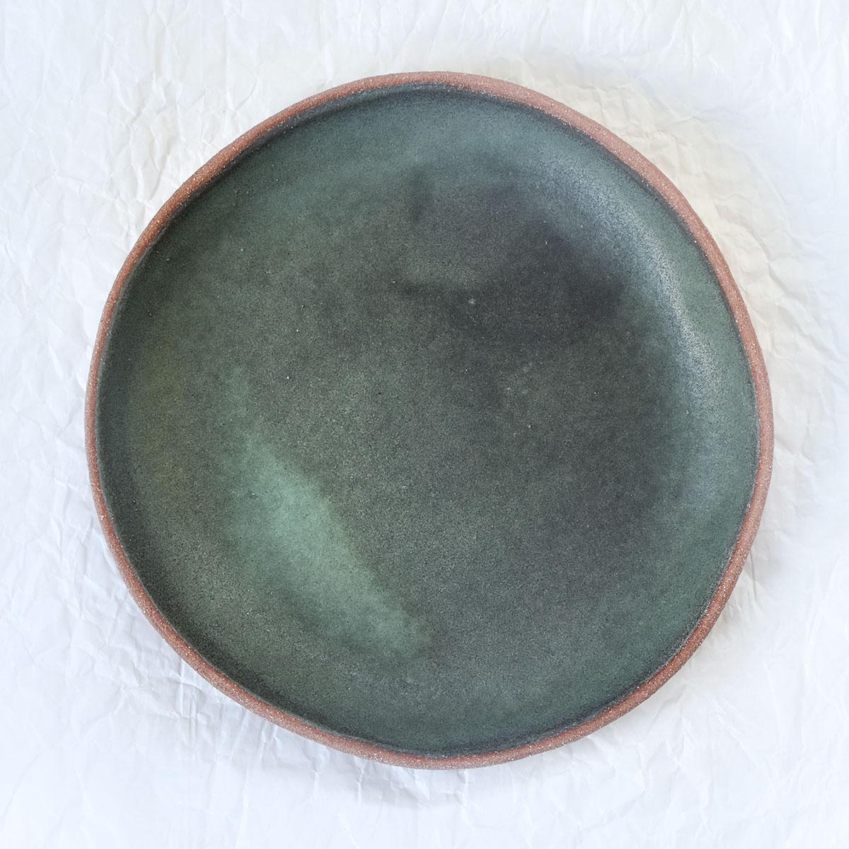 """картинка Зеленая тарелка из серии """"Скандинавия"""" - DishWishes.Ru"""
