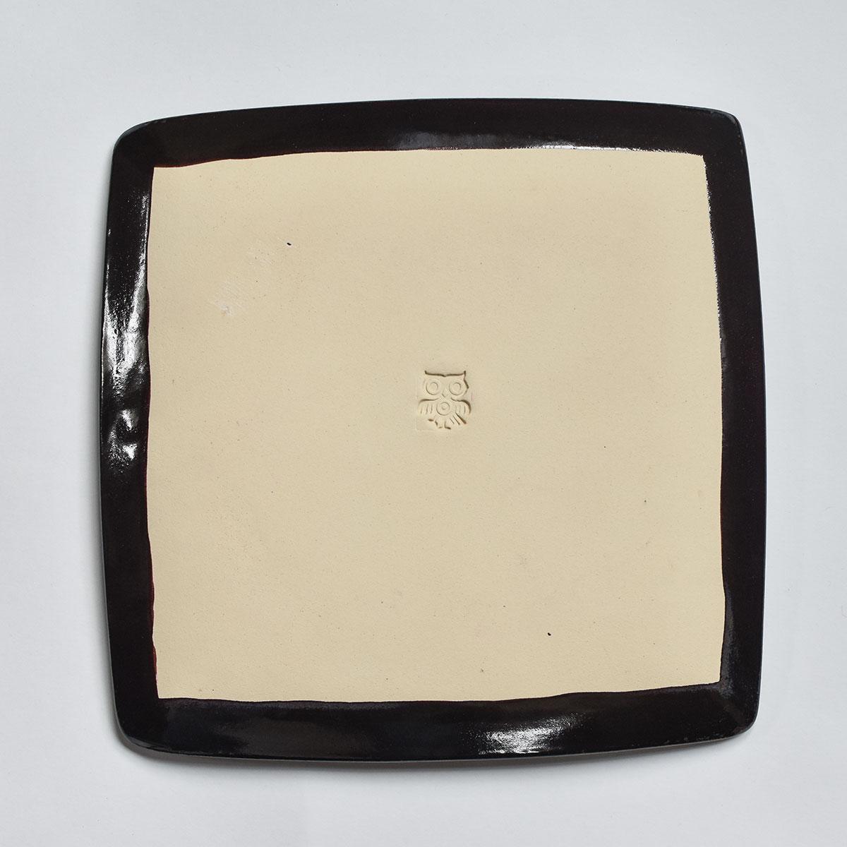 """картинка Керамическая тарелка """"Тектонический разлом"""" - DishWishes.Ru"""