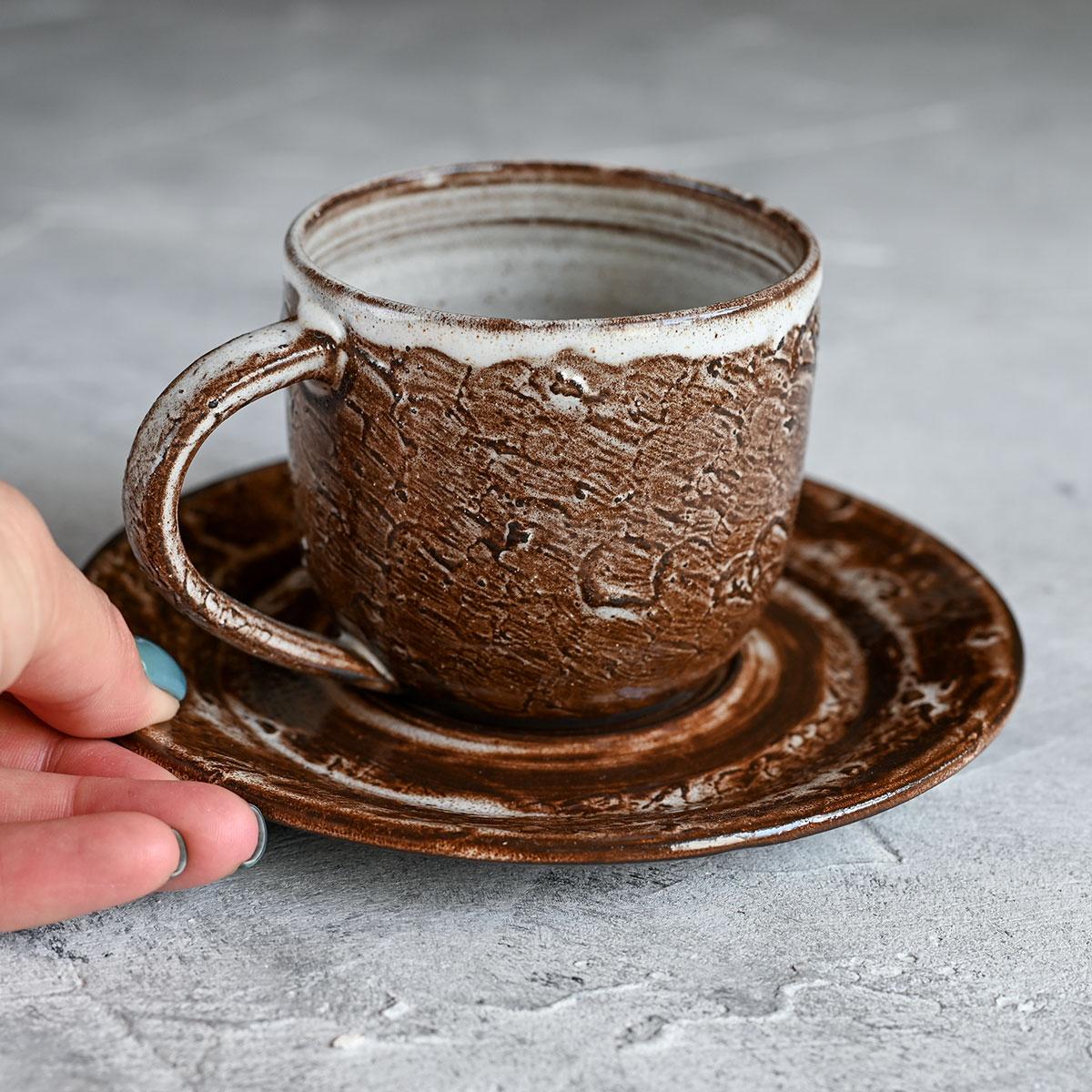 "картинка Чайная пара из серии ""Горький шоколад"" 1 - DishWishes.Ru"