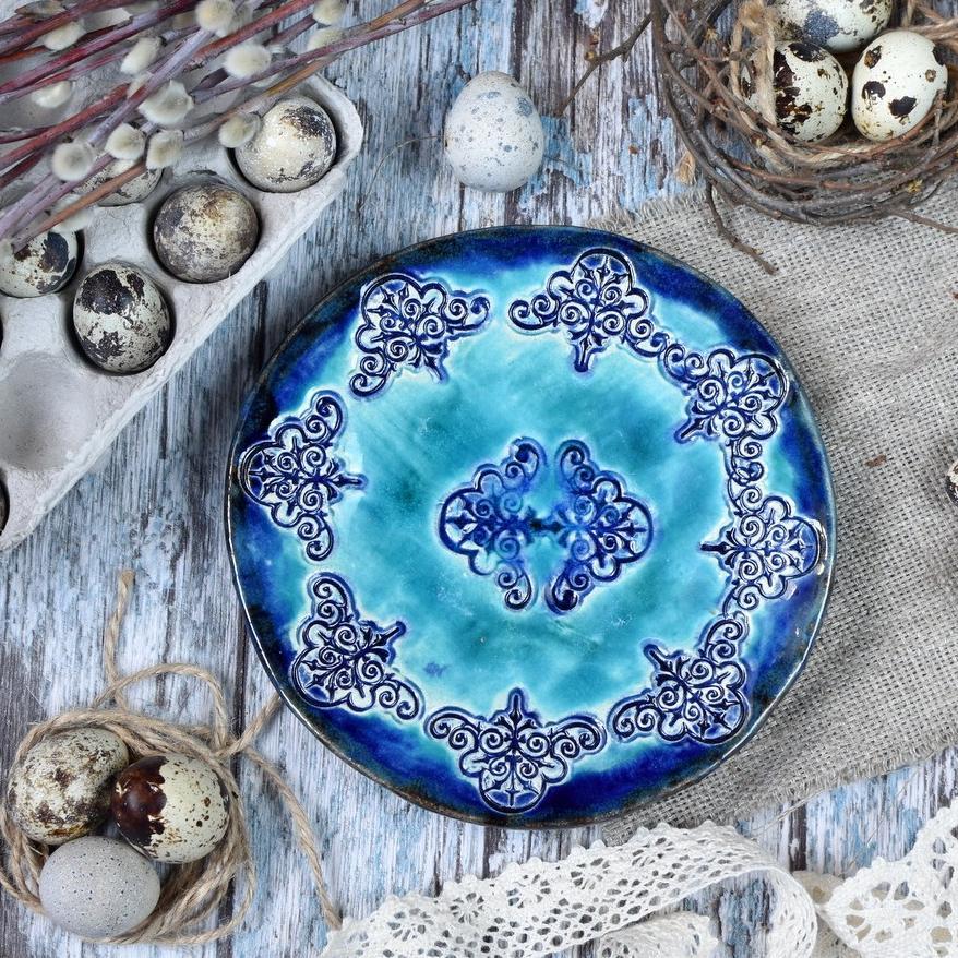 """картинка Небольшая тарелка """"Восточные сказки"""" - DishWishes.Ru"""