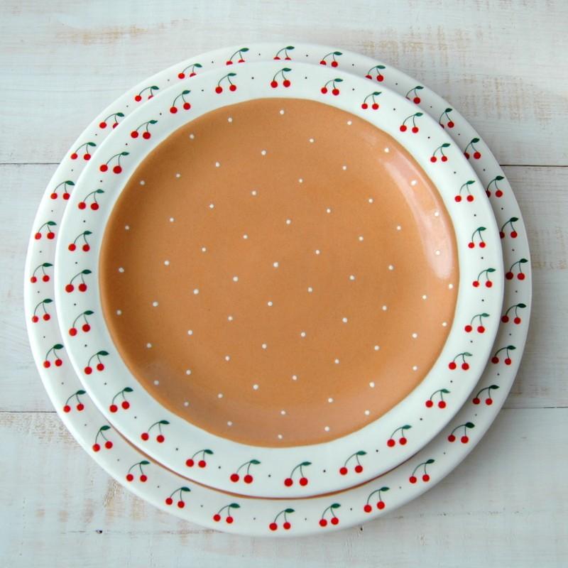 "картинка Большое блюдо ""Вишневый пирог"" - DishWishes.Ru"