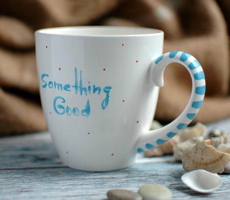 "картинка Кружка ""Something Good"" - DishWishes.Ru"