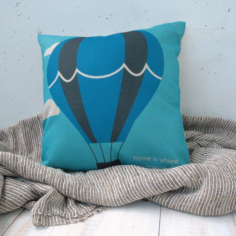 "картинка Чехол на подушку ""Воздушный шар"" - DishWishes.Ru"