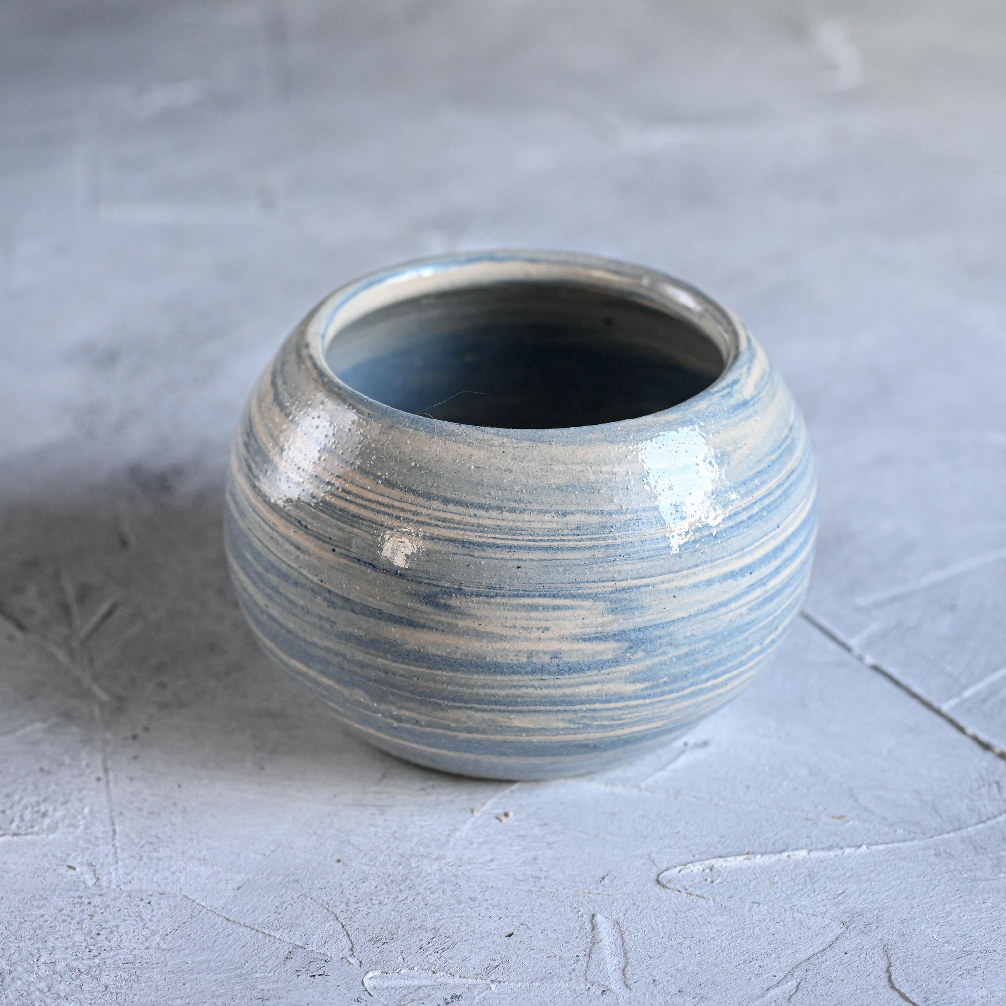 картинка Керамическая ваза в технике нерияги - DishWishes.Ru