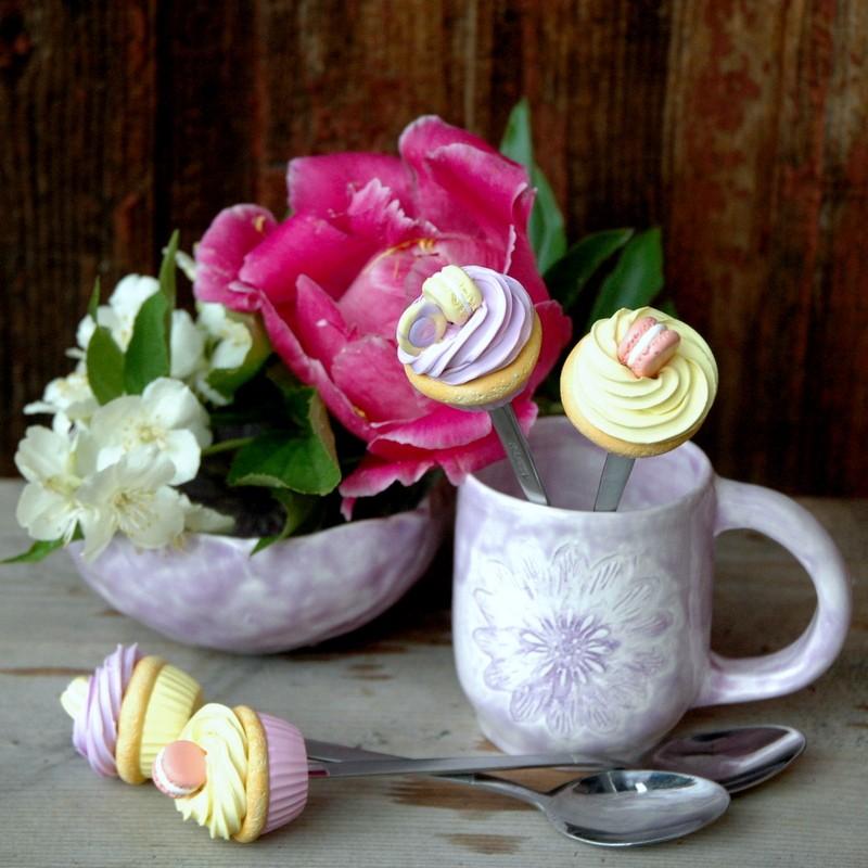 "картинка Керамическая чашка ""Вечерние цветы"" - DishWishes.Ru"
