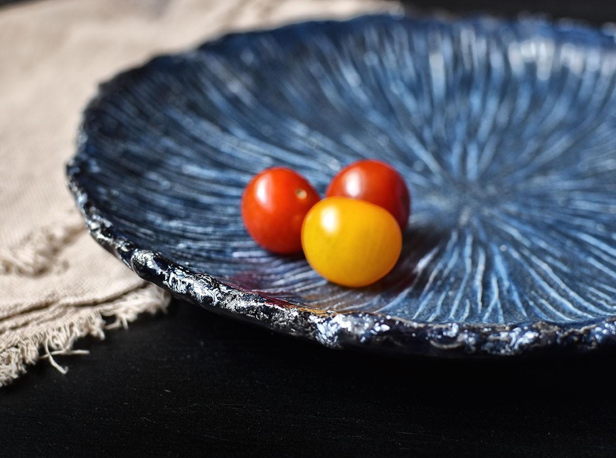 "картинка Большое фактурное блюдо ""Морской ёж"" - DishWishes.Ru"