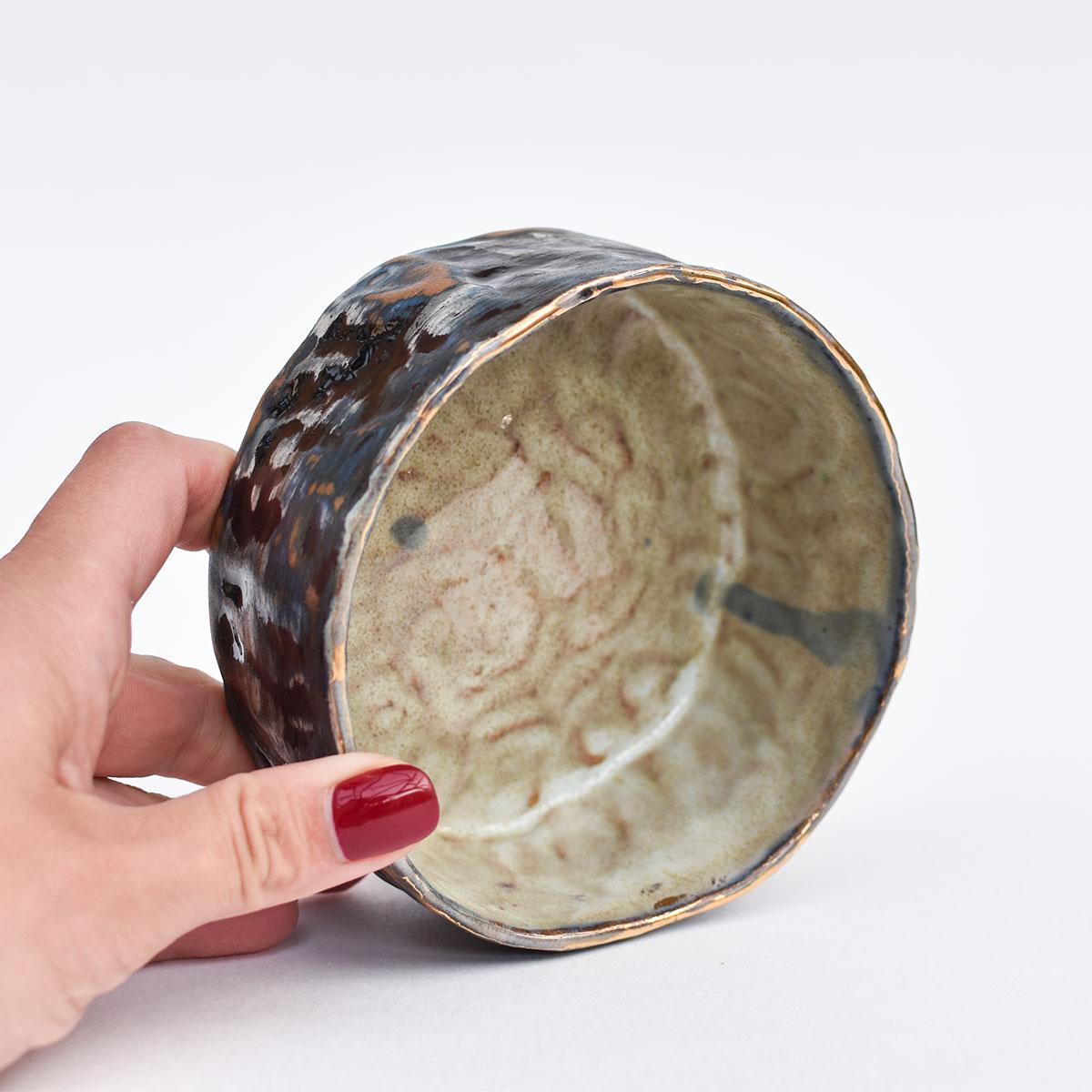 картинка Лепная плошка Юрия Пересады 7 - DishWishes.Ru