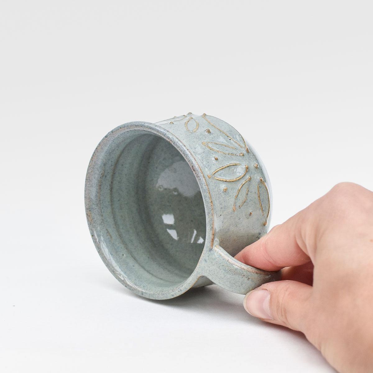 """картинка Керамическая чашка из серии """"Лотос"""" - DishWishes.Ru"""