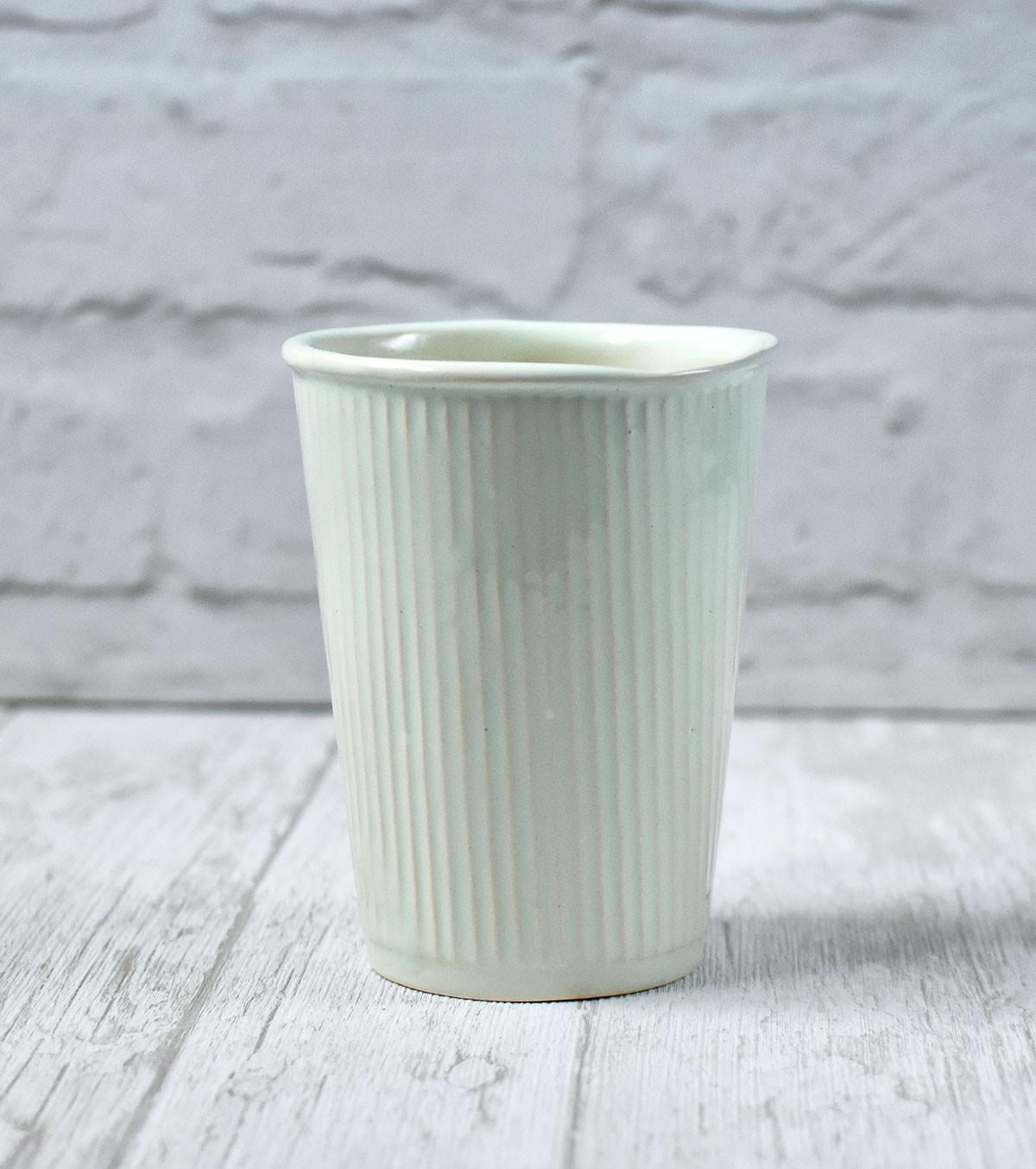 """картинка Керамический стакан ручной работы """"Пастель"""" - DishWishes.Ru"""