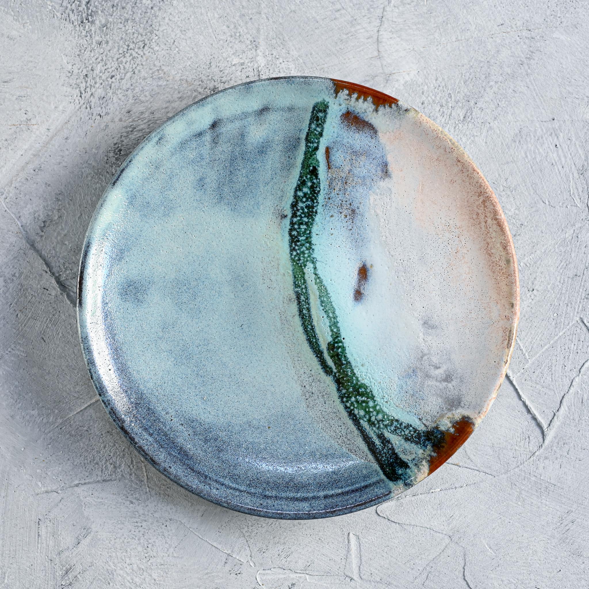 """картинка Тарелка из серии """"Япония"""" - море 4 - DishWishes.Ru"""