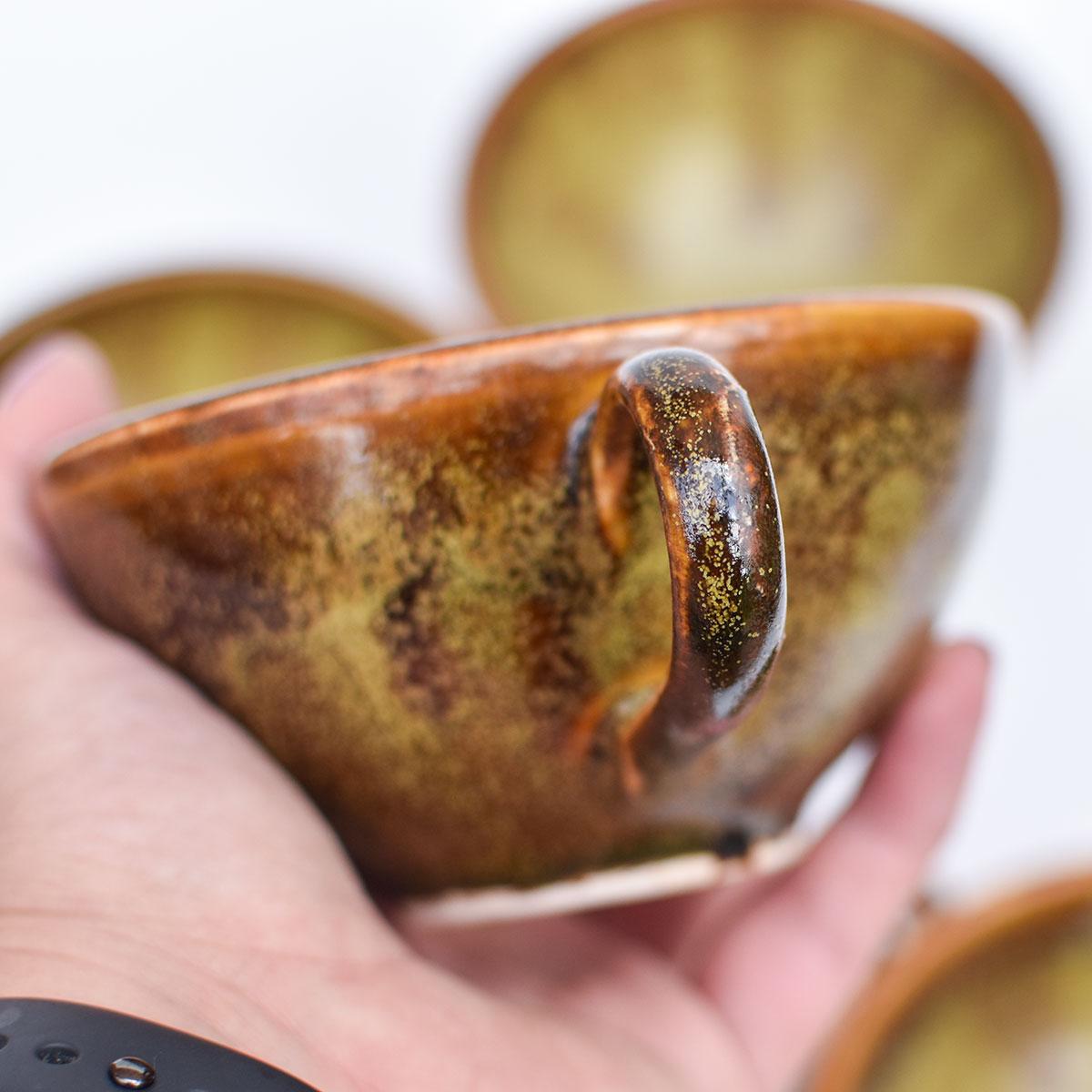 """картинка Керамическая чашка """"Чайная пыль"""" - DishWishes.Ru"""