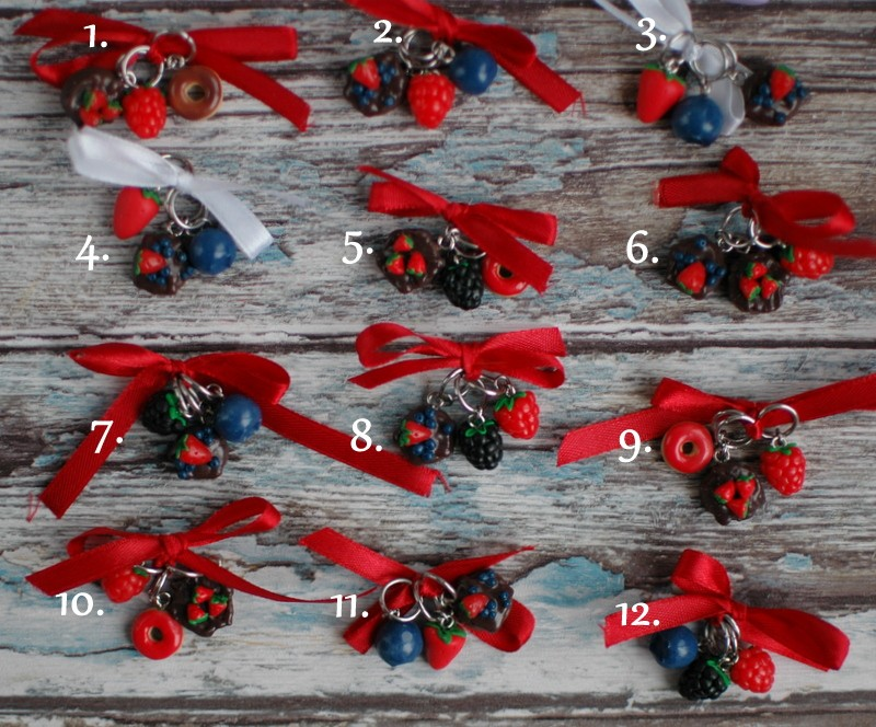 """картинка Набор маркеров для вязания """"Лесные ягоды"""" - DishWishes.Ru"""