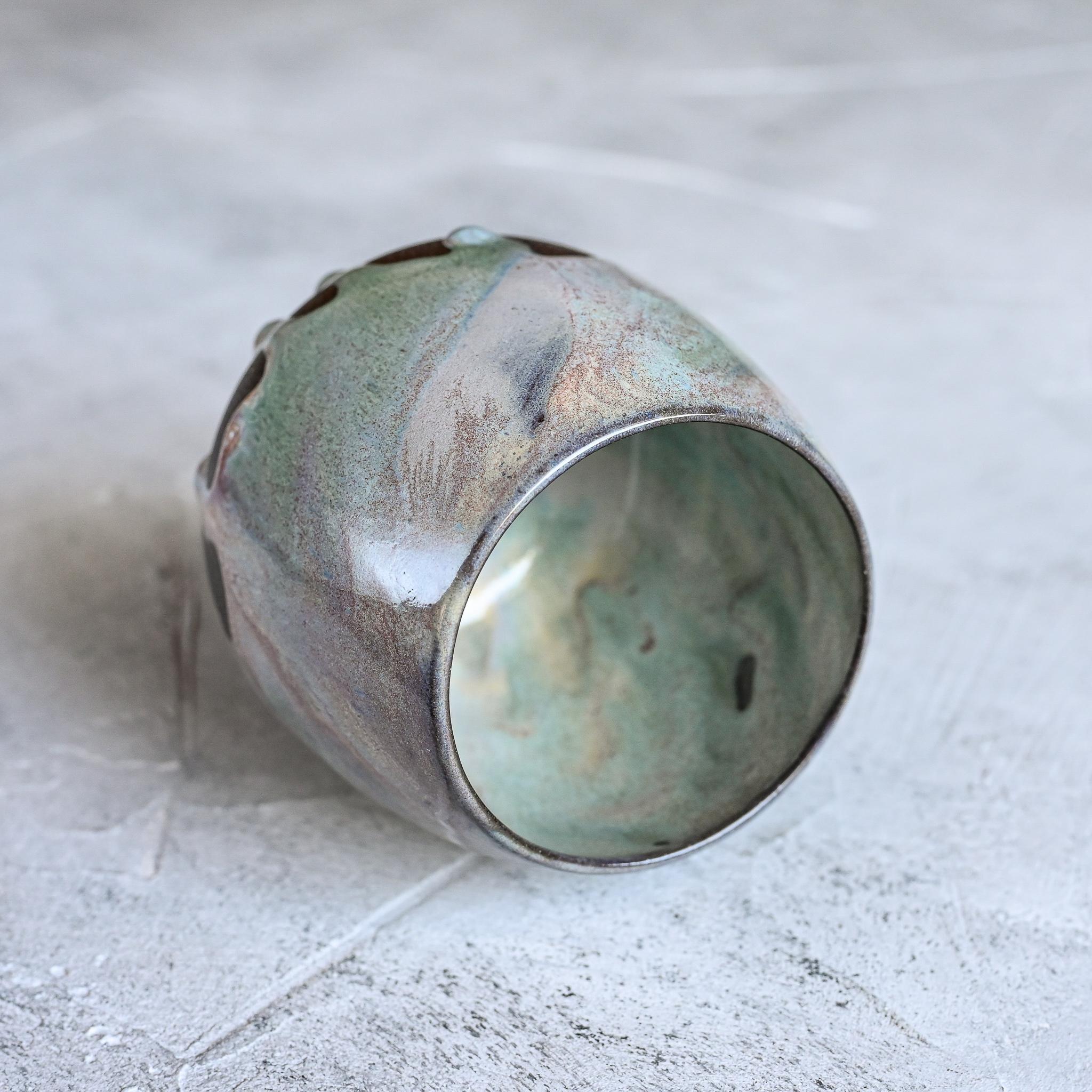 картинка Керамический стакан Марии Левиной 12 - DishWishes.Ru