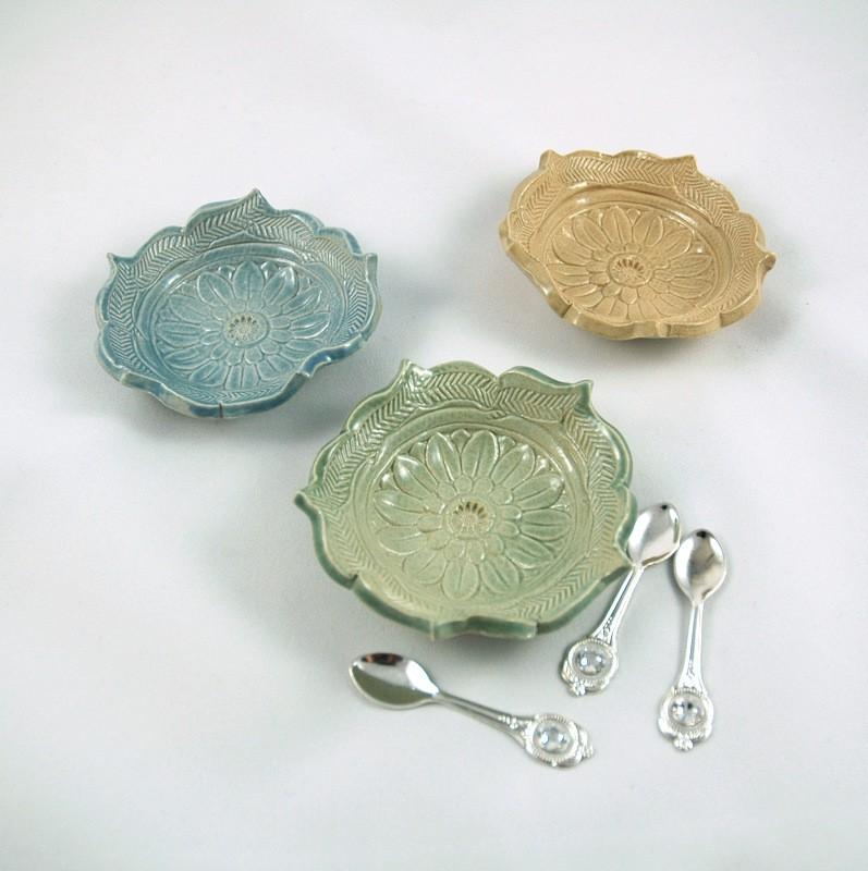 картинка Набор из трех маленьких мисочек - DishWishes.Ru
