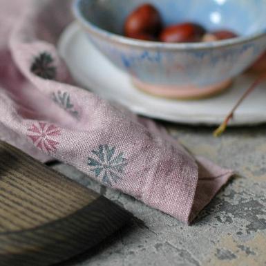 """картинка Салфетка ручной работы """"Розовый вечер"""" - DishWishes.Ru"""
