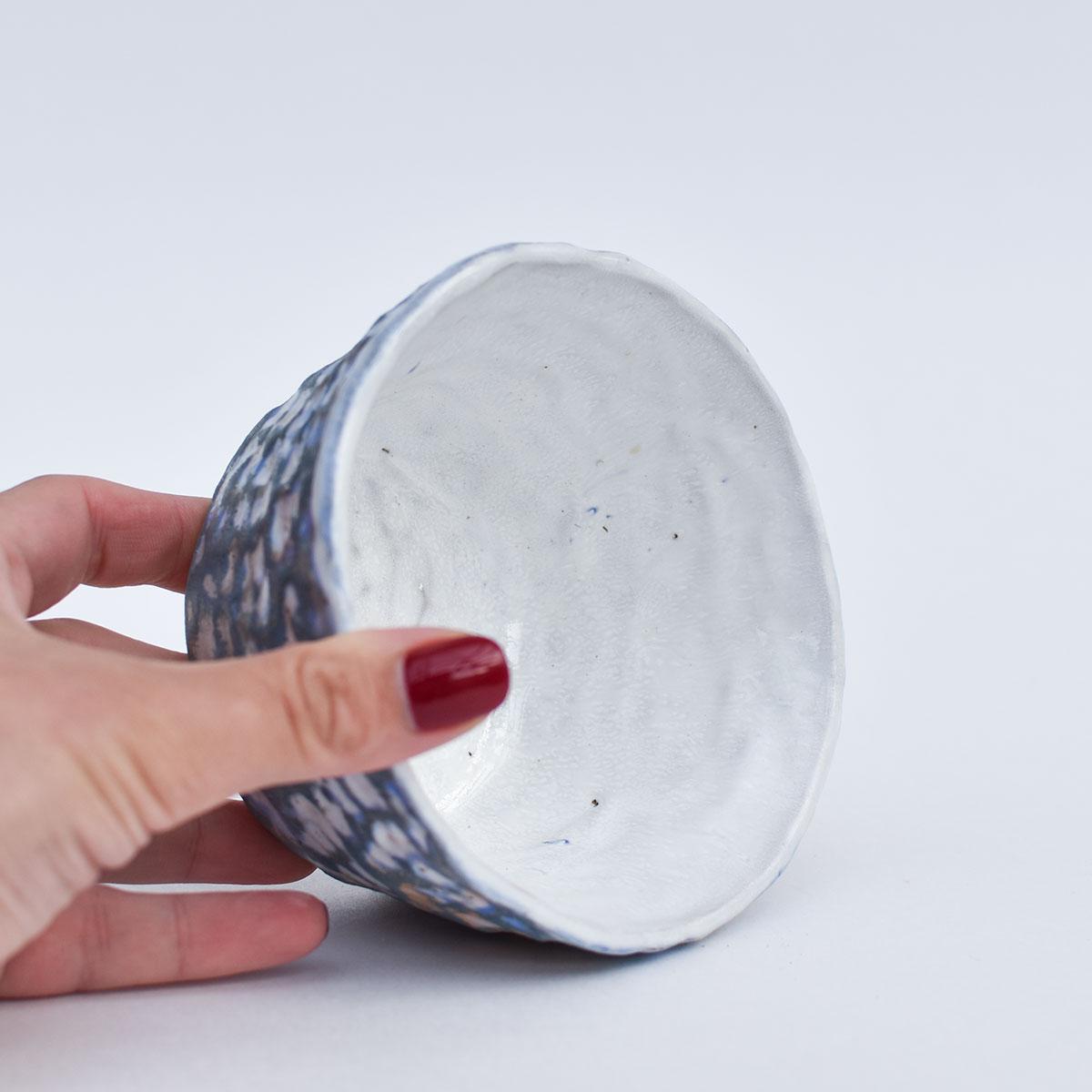 картинка Лепная плошка Юрия Пересады 3 - DishWishes.Ru