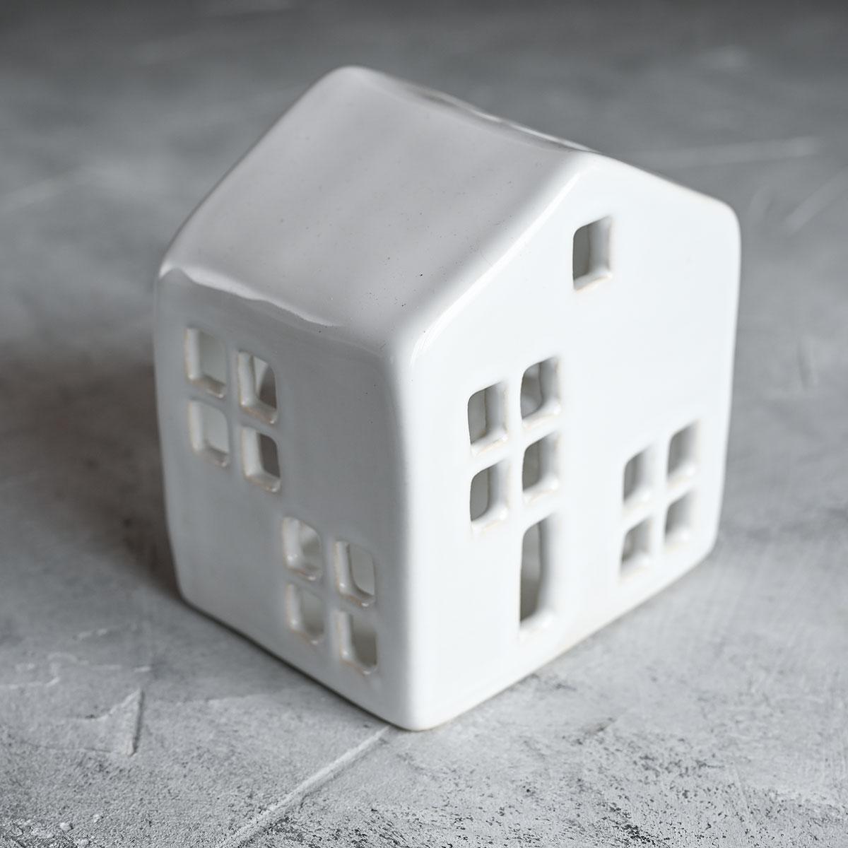 """картинка Керамический подсвечник """"Дом"""" 3 - DishWishes.Ru"""
