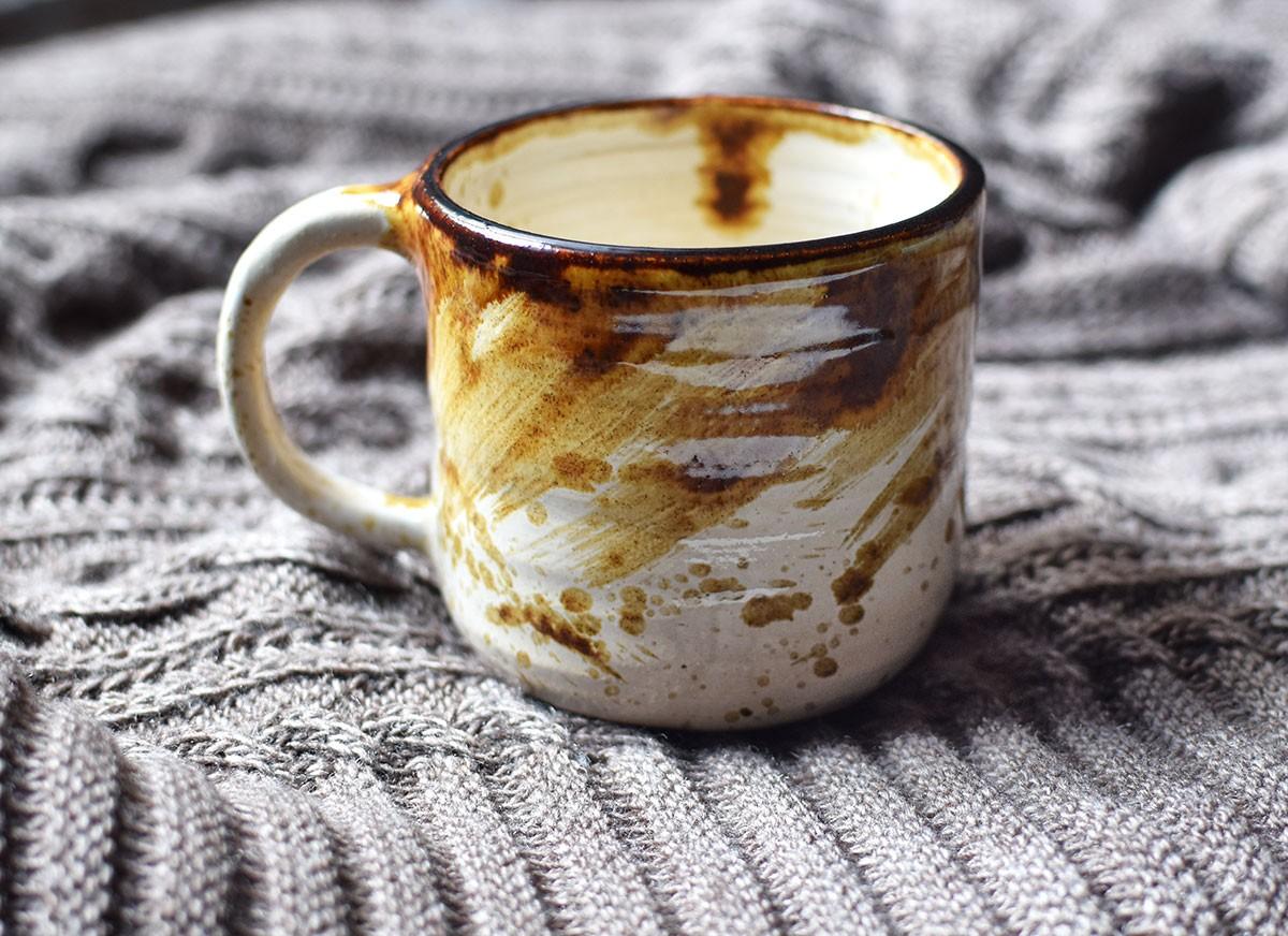 """картинка Кружка """"Кофе с корицей"""" - DishWishes.Ru"""