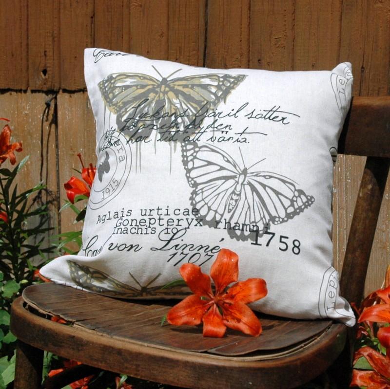 """картинка Чехол для подушки """"Бабочки"""" - DishWishes.Ru"""