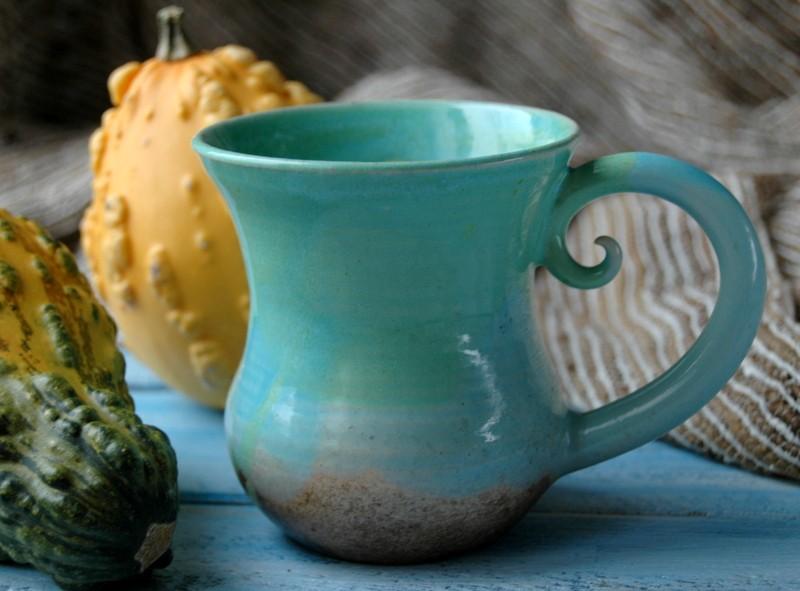 картинка Чашка Мятная - DishWishes.Ru
