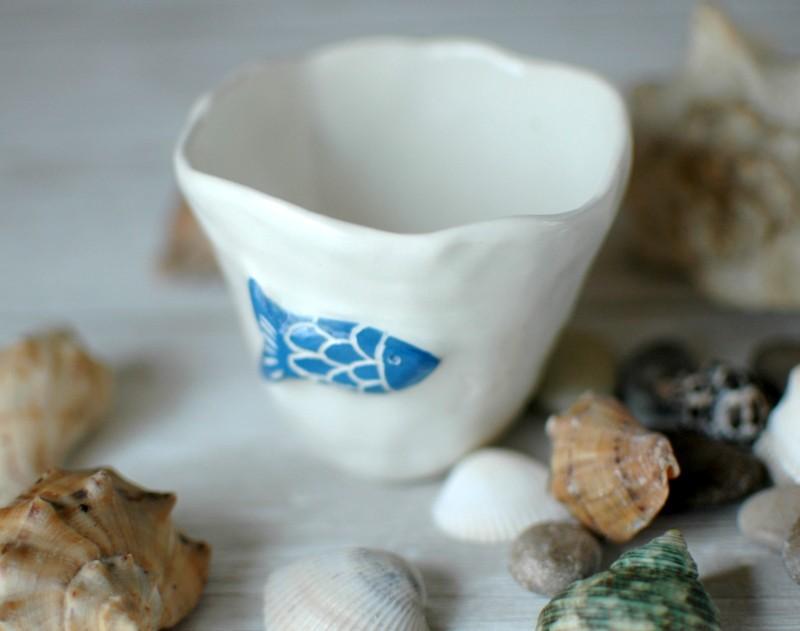 """картинка Чашка """"Твое синее море"""" - DishWishes.Ru"""