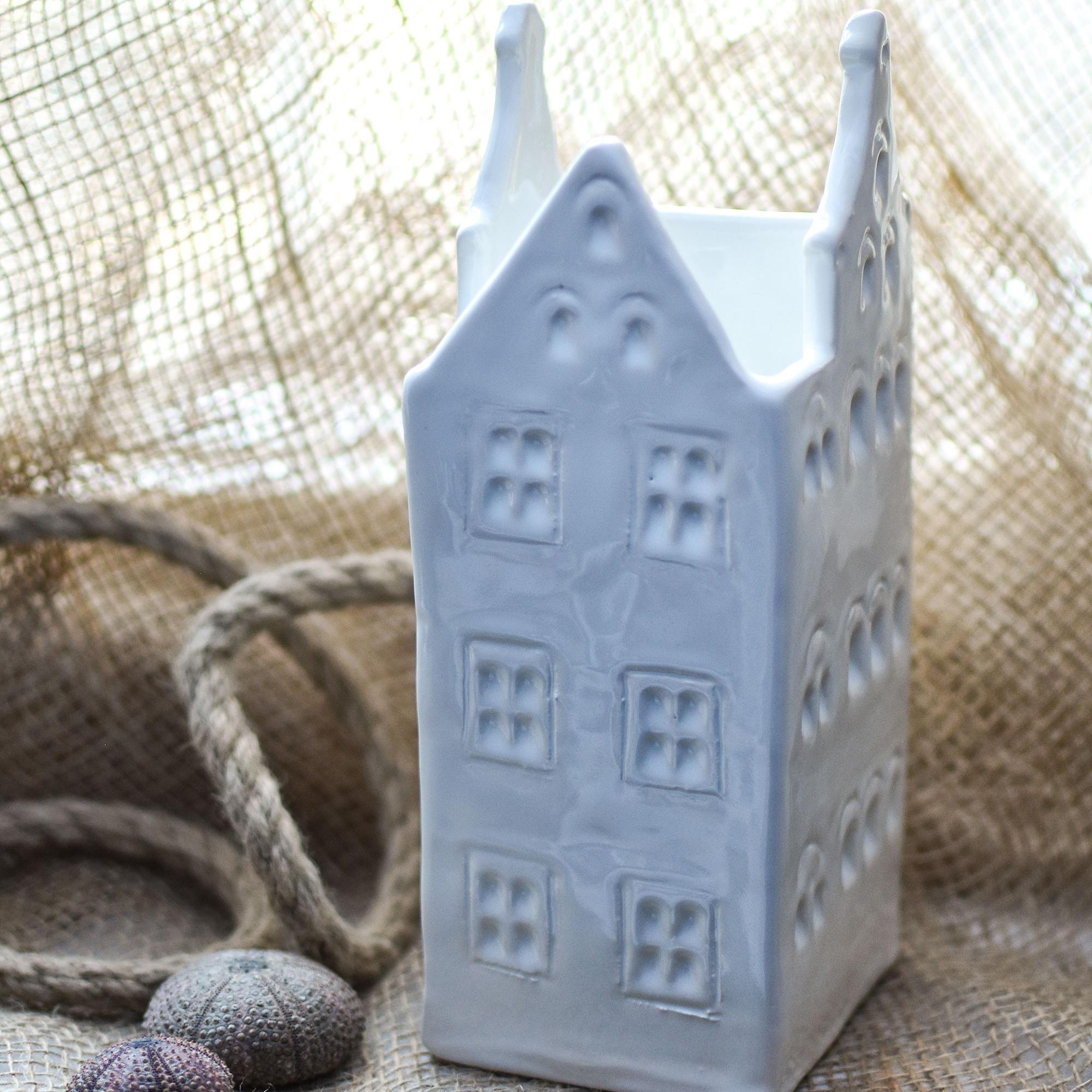 """картинка Керамическая ваза-дом """"Новая Голландия"""" - DishWishes.Ru"""