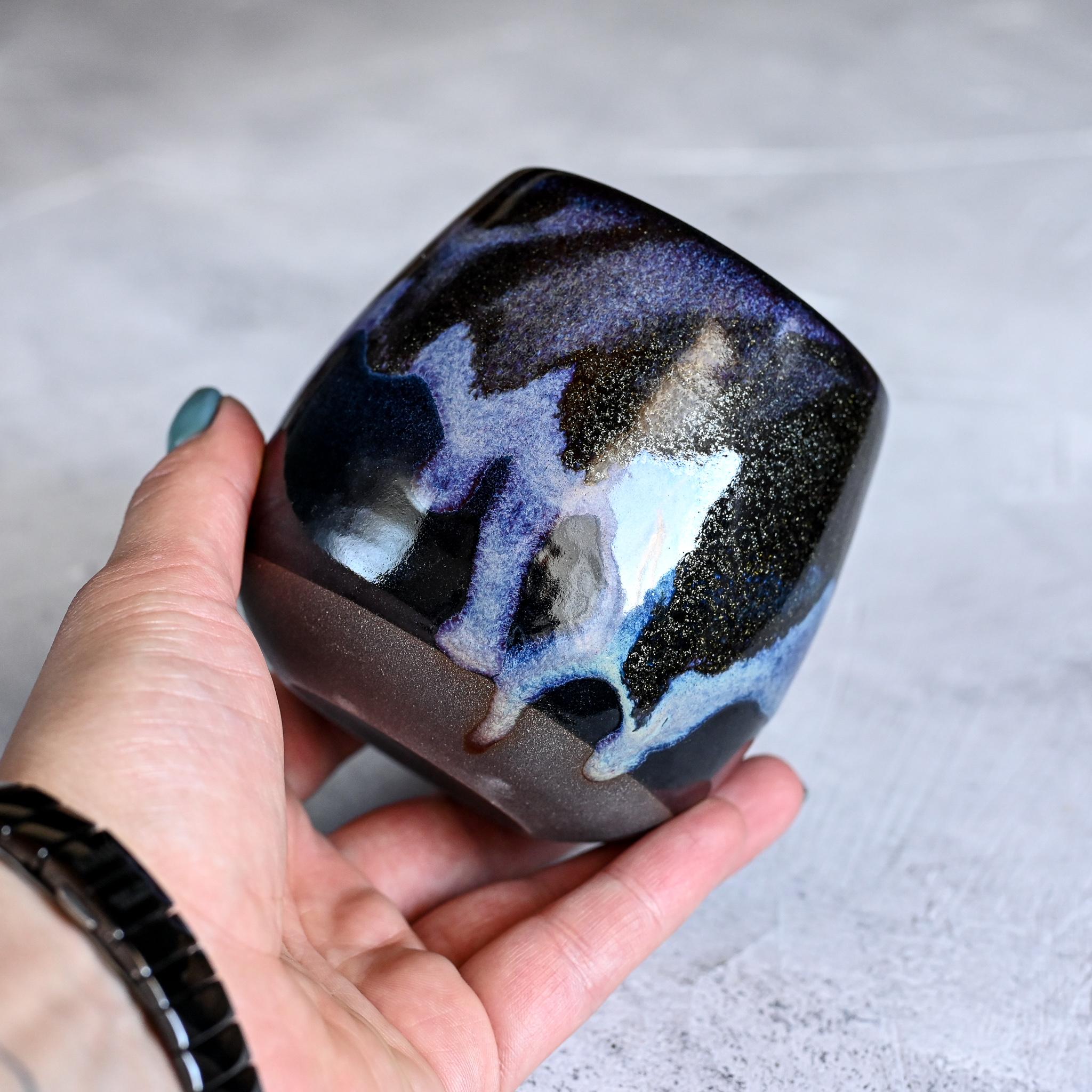 "картинка Керамический стакан Марии Левиной ""Космос"" 4 - DishWishes.Ru"