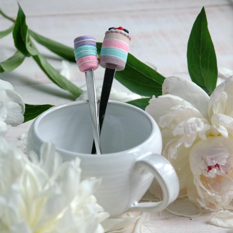 картинка Набор из двух кофейных ложечек - DishWishes.Ru