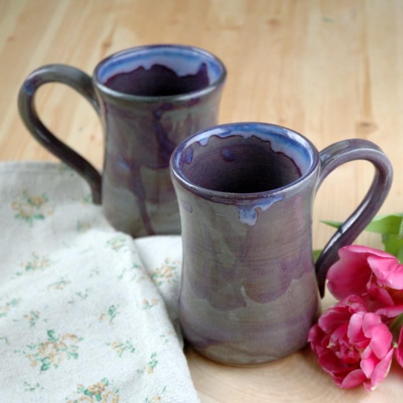 картинка Большая фиолетовая кружка - DishWishes.Ru
