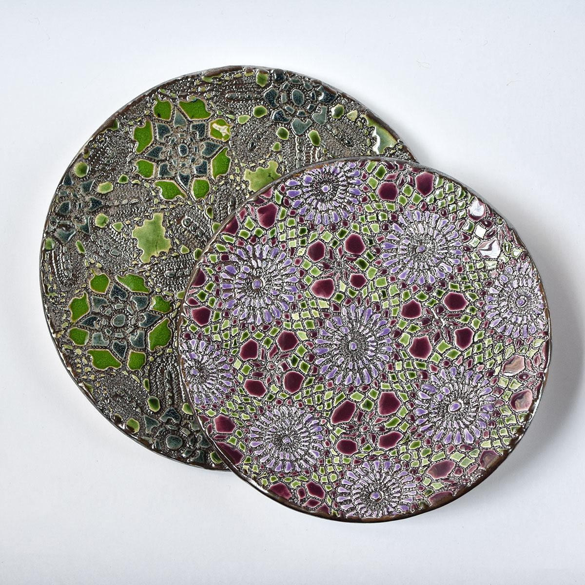 """картинка Керамическая тарелка """"Сказочные самоцветы"""" - DishWishes.Ru"""