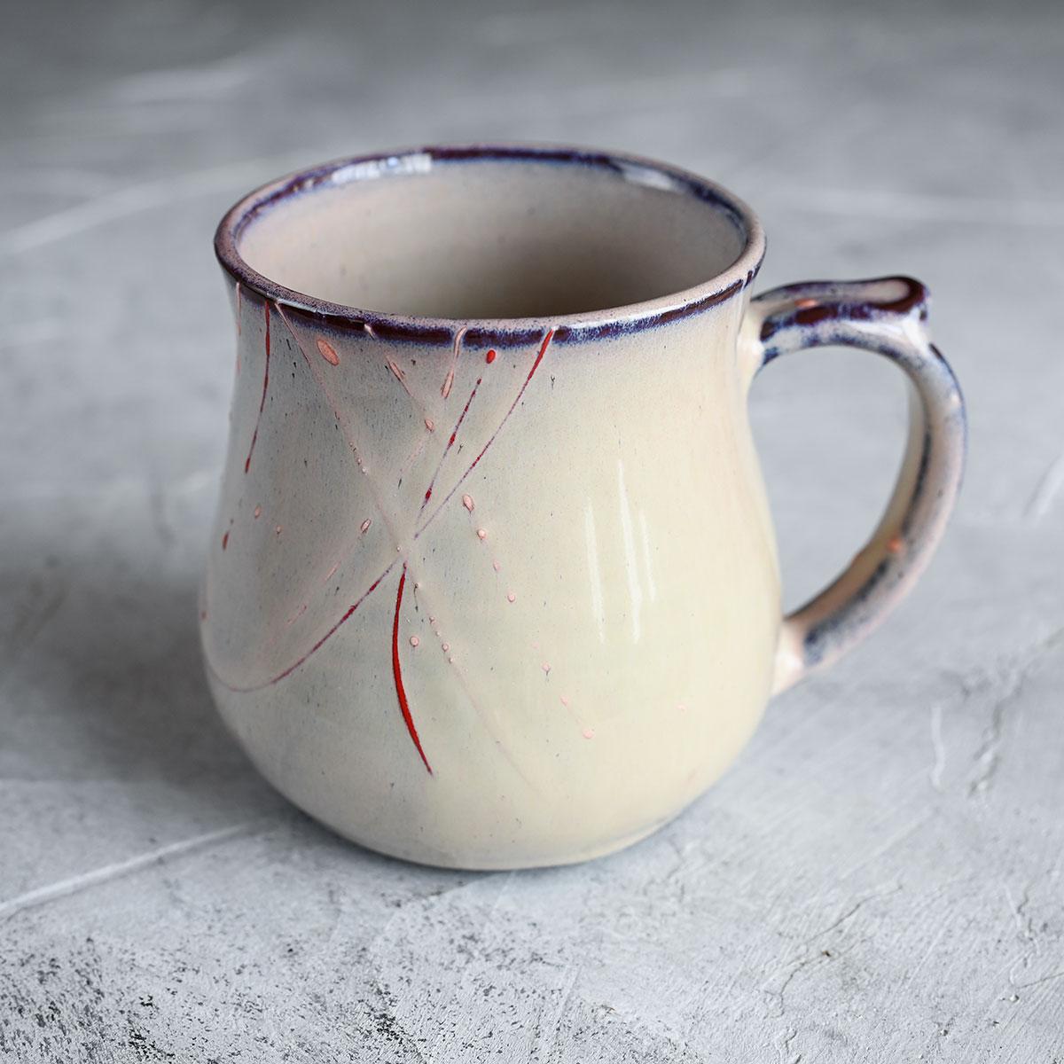 картинка Чашка из черного фарфора А.Заболотникова 4 - DishWishes.Ru
