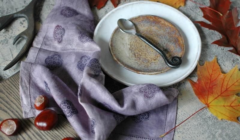 картинка Винтажная жаккардовая салфетка ручной работы - DishWishes.Ru